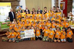 Vorschau Fotogalerie: Wir machen Meter - Sieger Volksschule