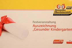 Vorschau Fotogalerie: Urkundenverleihung Gesunder Kindergarten