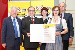 Vorschau Fotogalerie: Verleihung Qualitätszertifikat an Gemeinden im Netzwerk Gesunde Gemeinde